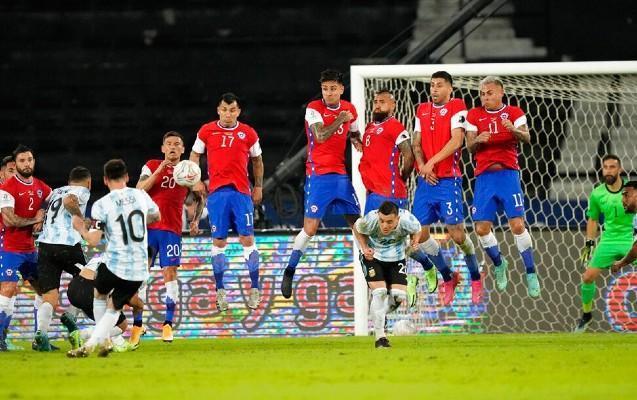 Argentina - Çili - 1:1