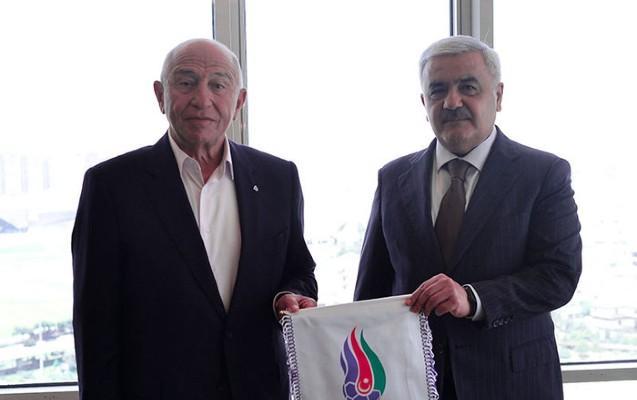 Rövnəq Abdullayev Türkiyə Futbol Federasiyasının prezidentiylə görüşdü