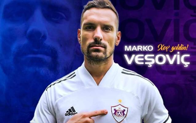 """""""Qarabağ""""ın yeni transferi Marko Veşoviç """"Legiya"""" ilə vidalaşdı"""