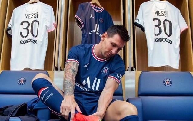 Messi PSJ-də ilk məşqinə belə çıxdı VİDEO