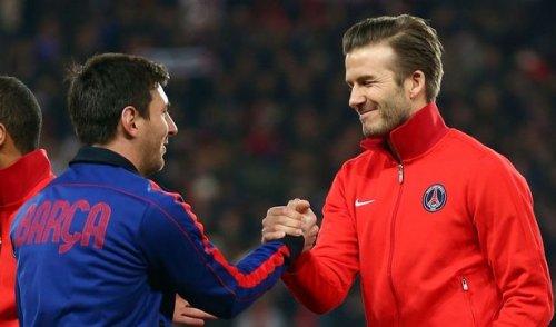 Lionel Messi Devid Bekhemin klubunda da, oynaya bilər