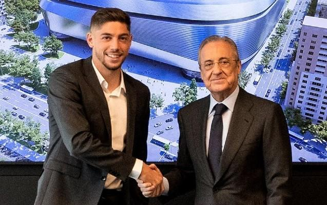 """""""Real"""" Federiko Valverde ilə  2025-ci ilə kimi müqavilə imzaladı"""
