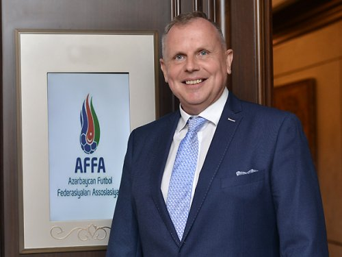 AFFA rəsmisi Ştuxlik UEFA-dan yeni təyinat