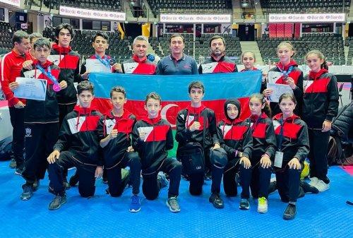 Azərbaycan taekvondoçuları 7 medal qazandı