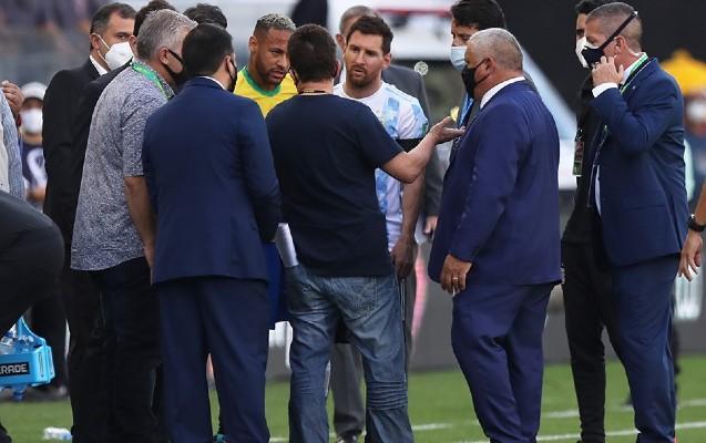 Braziliya – Argentina oyununda qalmaql düşdü -