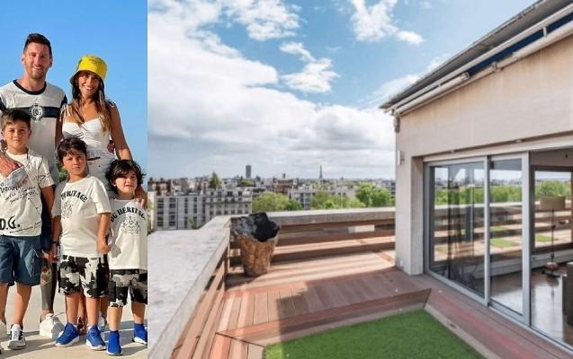 Lionel Messi yeni evinə daşındı -