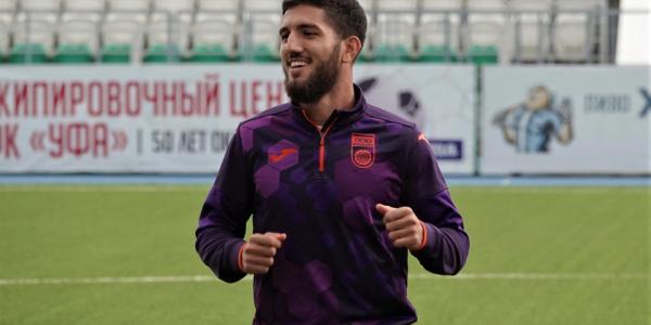 """Azərbaycanlı futbolçu Əliyev """"Krasnodar""""a qarşı 45 dəqiqə oynadı"""